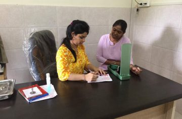 Gynaecologist Checkup